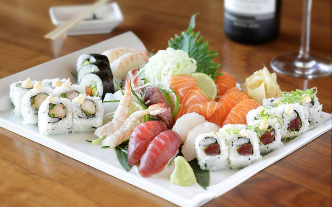 sushi business lunch